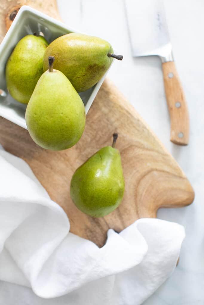 Vegan Spiced Peach Turnovers