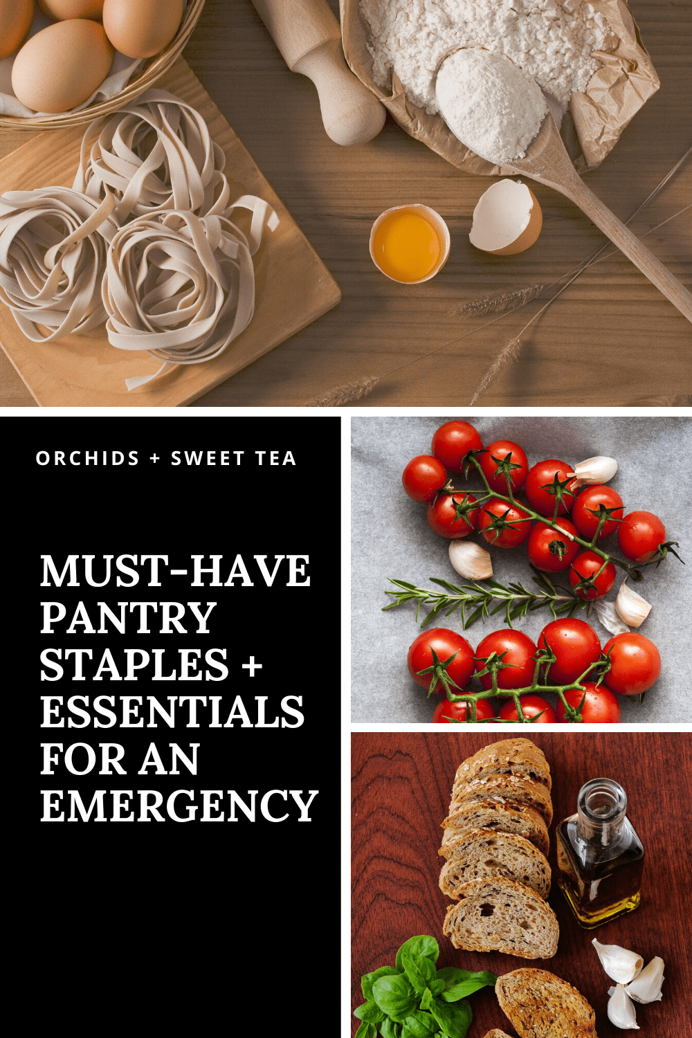Must-Have Pantry Staples + Essentials for an Emergency