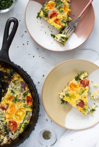 EASY VEGGIE BREAKFAST FRITTATA