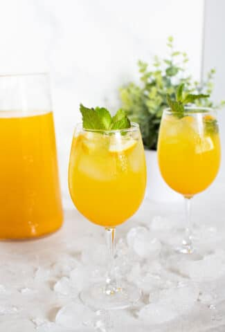 Pineapple Ginger Turmeric Lemonade