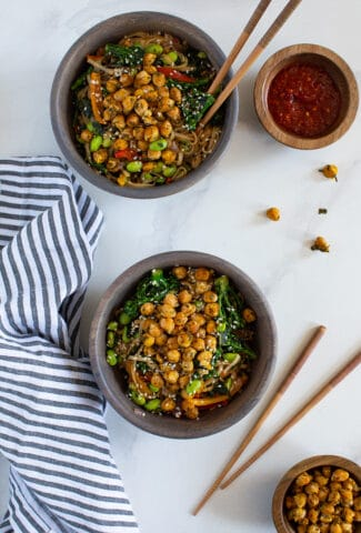 Easy Vegan Noodle Power Bowl