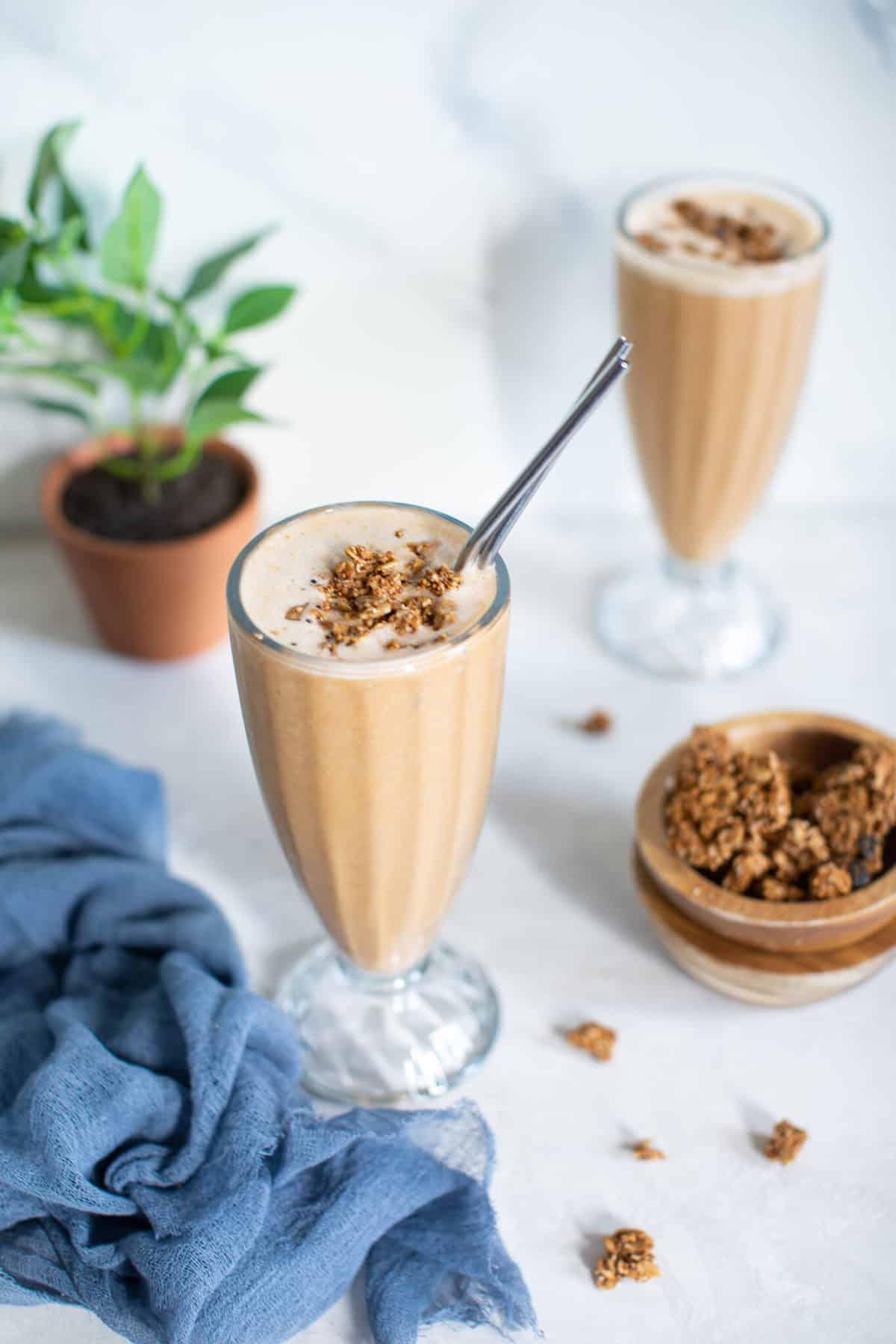 Healthy Sweet Potato Breakfast Smoothie