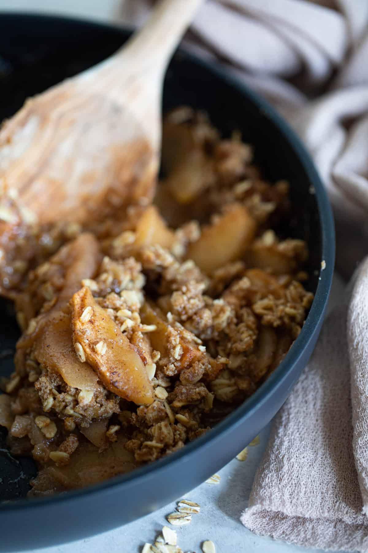 Homemade Gluten-Free Apple Crisp