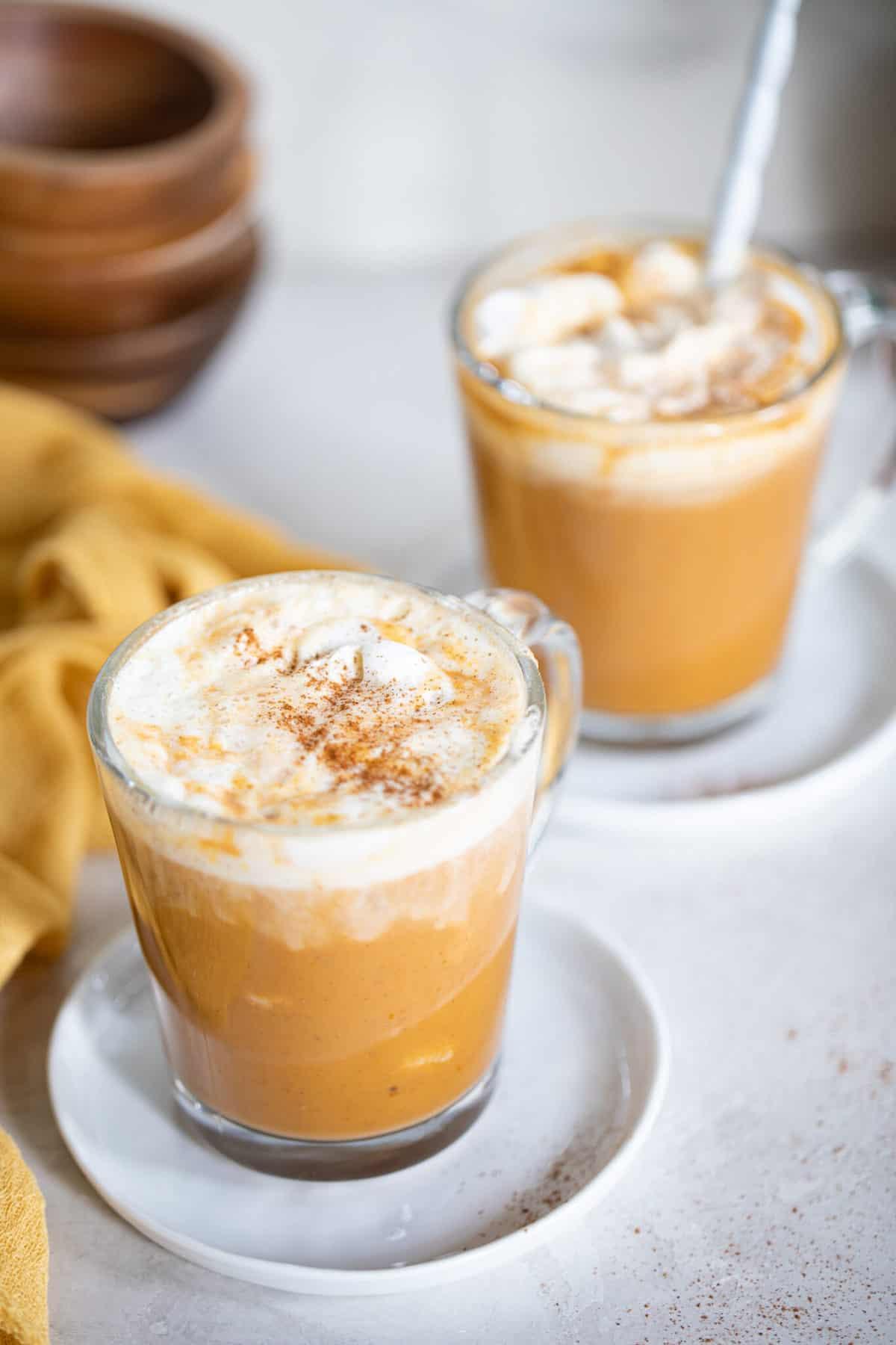 Vegan Pumpkin Chai Latte