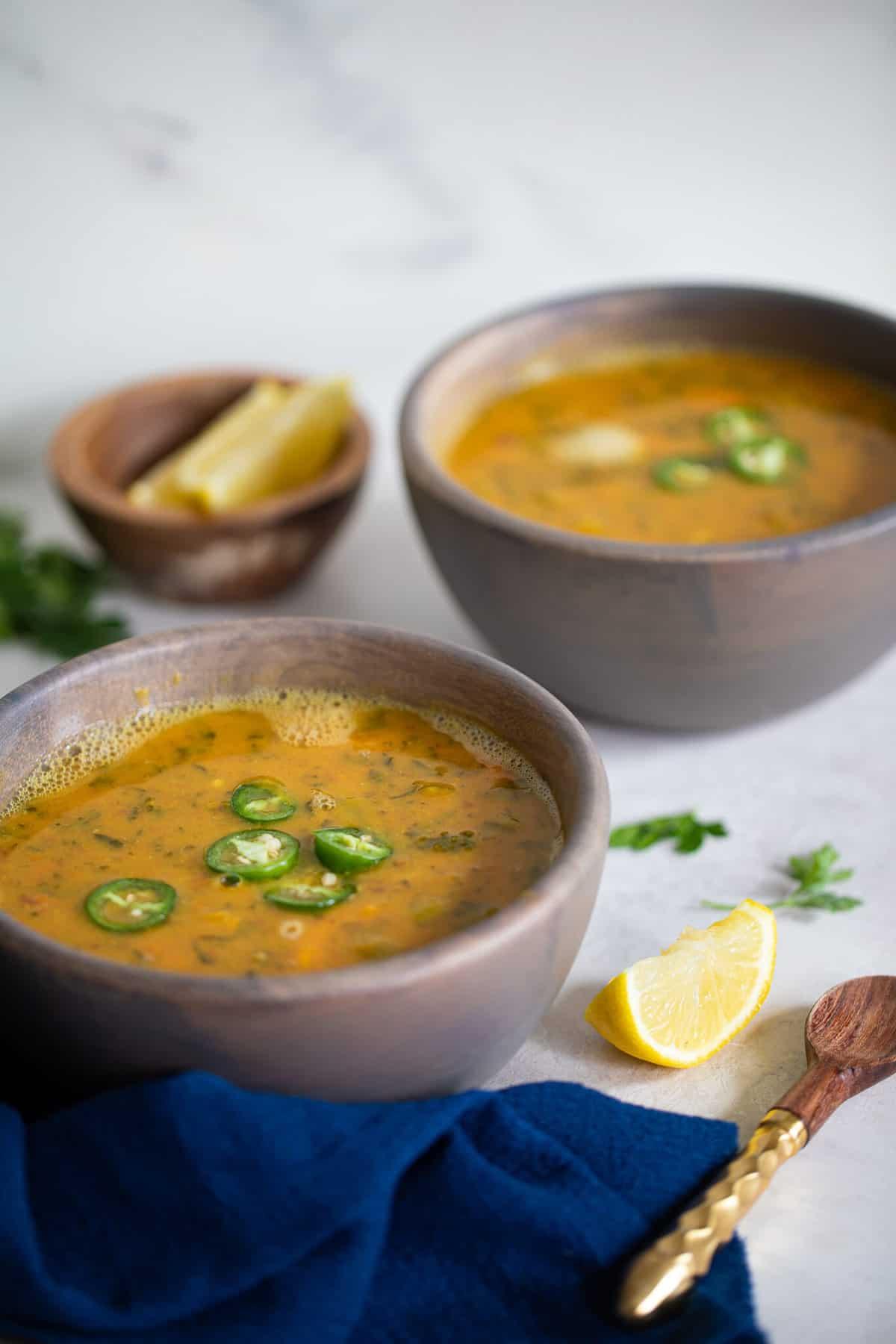 Fall Detox Sweet Potato Veggie Soup