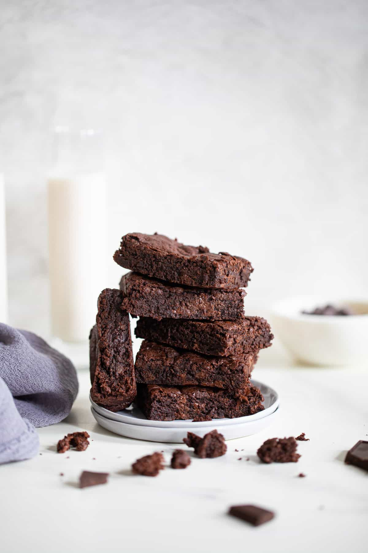Easy Extra Fudgy Vegan Brownies