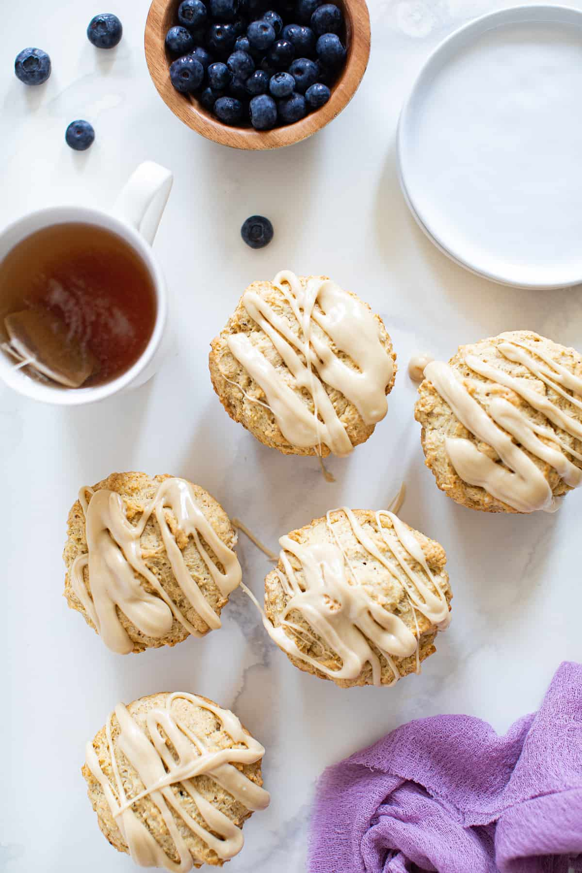 Maple Brown Butter Breakfast Muffins