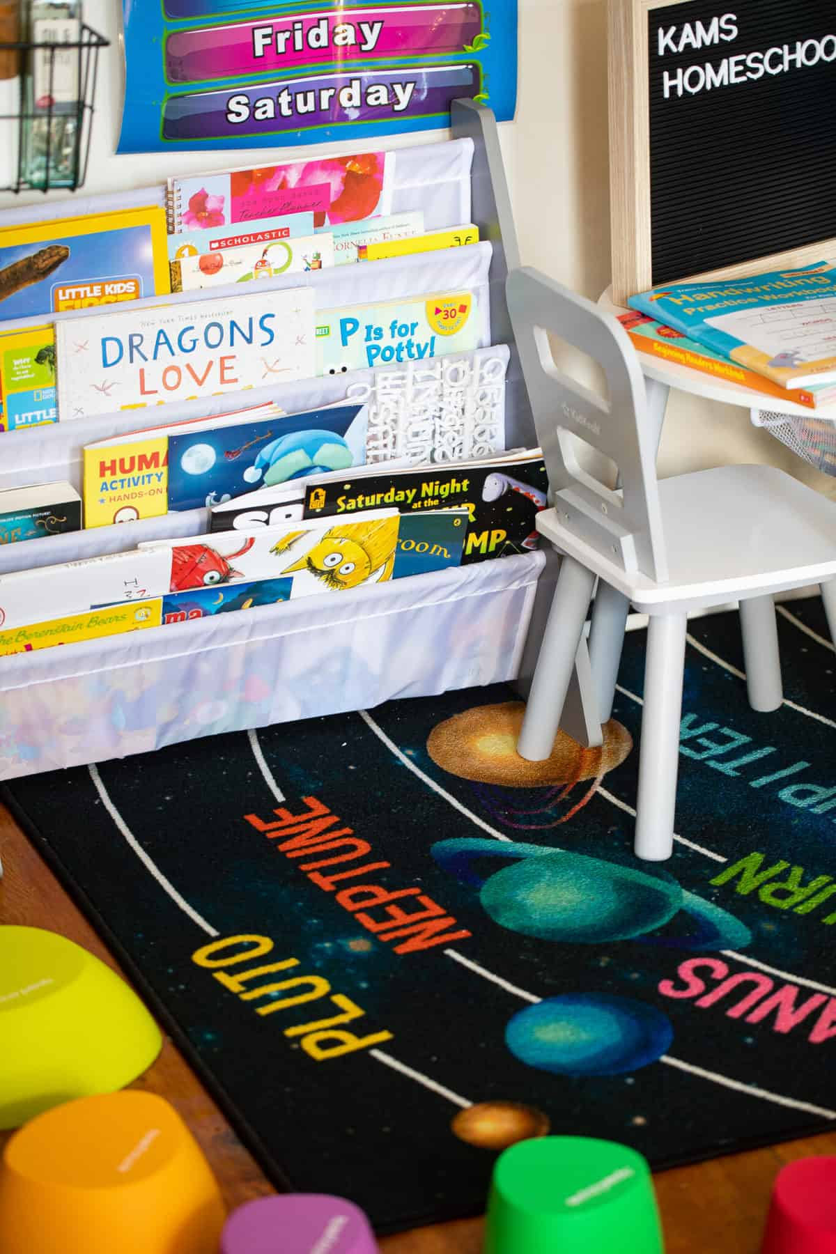 DIY Homeschool Room Ideas For a Small Space