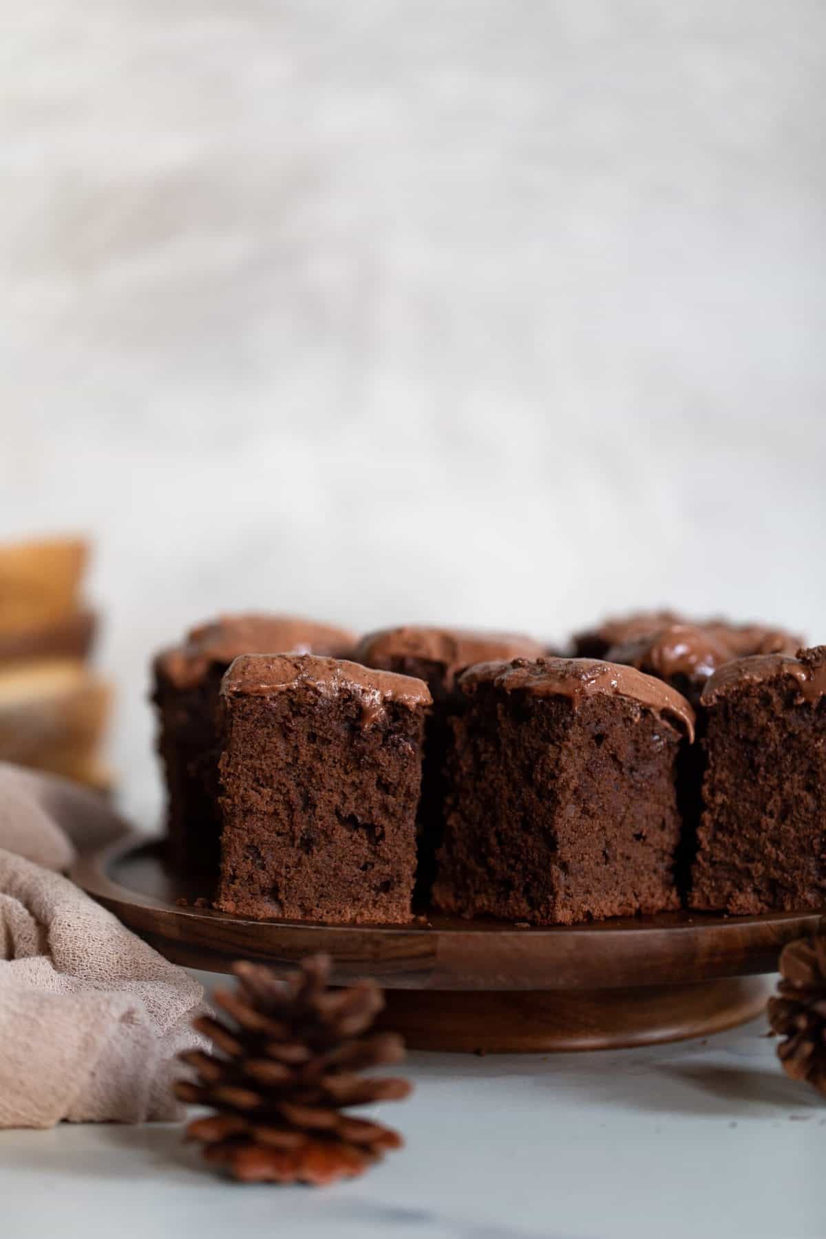 One-Bowl Double Chocolate Sheet Cake