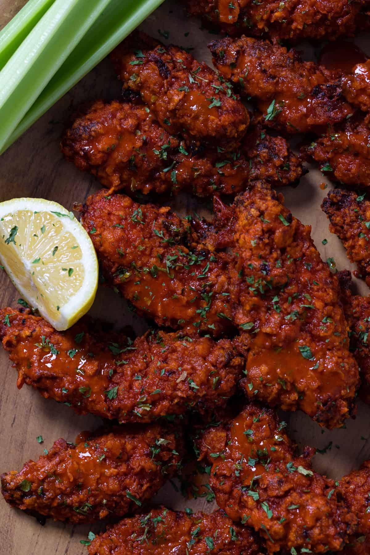 Crispy Buffalo Chicken Tenders