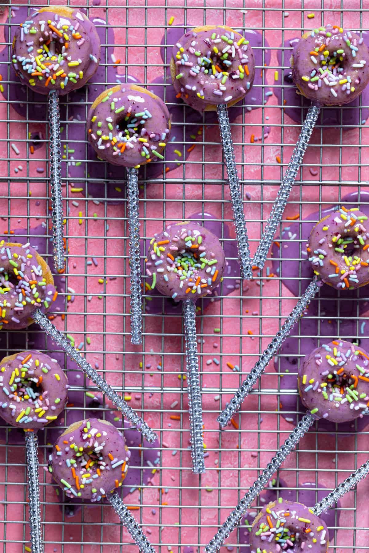 Mini Dairy-Free Homemade Donut Pops