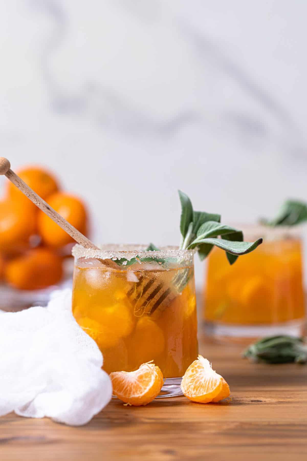 Citrus Honey Sage Drink