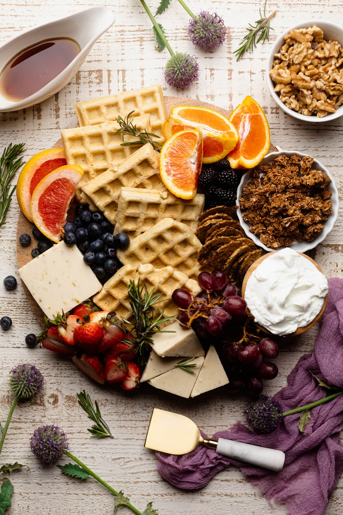 How To Build a Vegan Brunch Charcuterie Board