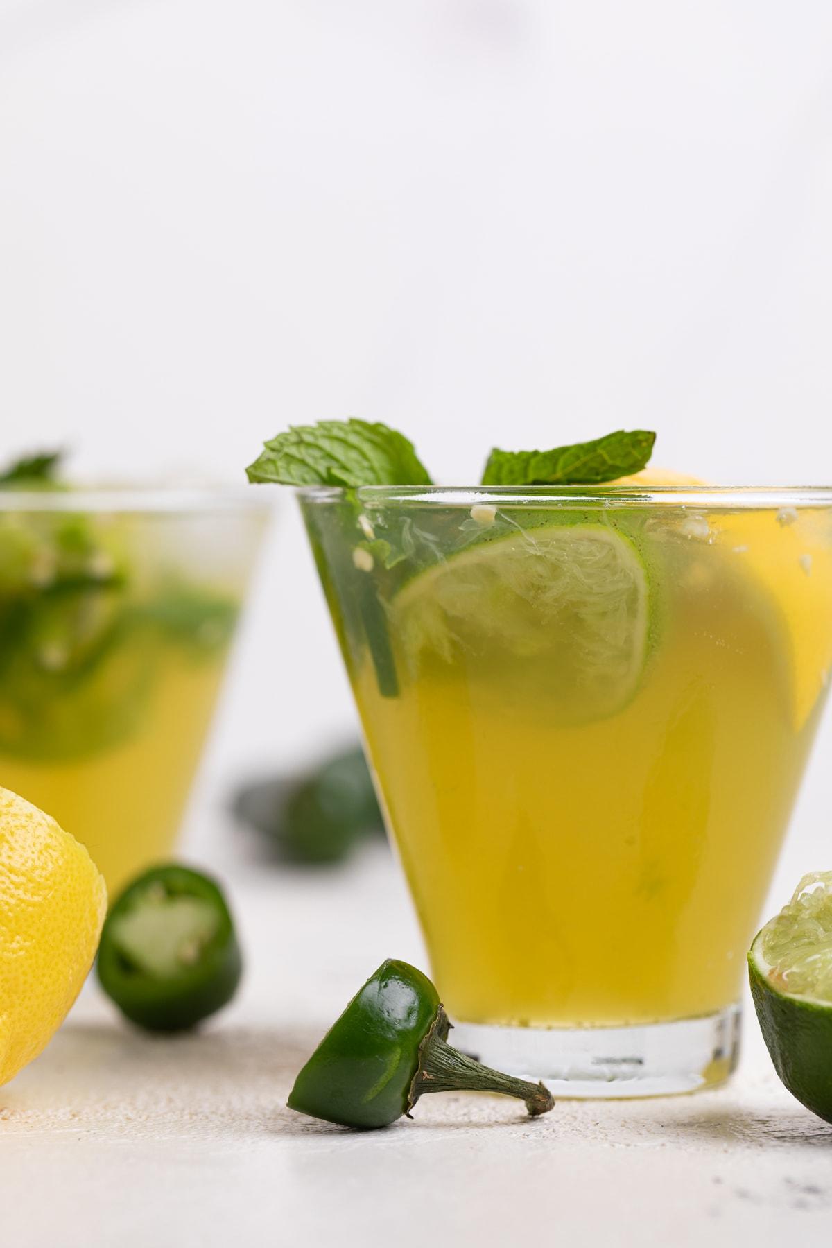 Jalapeno Lemon-Lime Mocktail