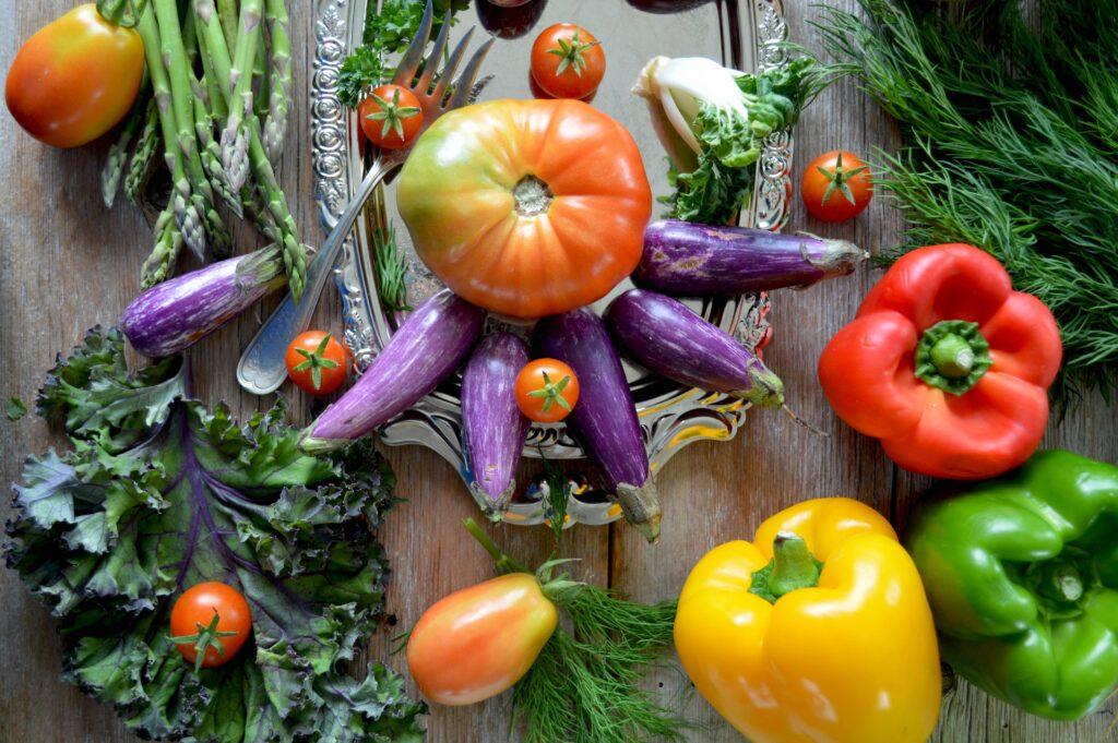 plant forward veggies