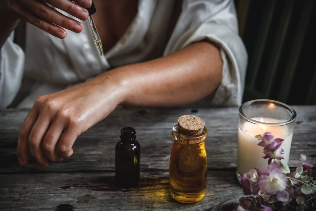natural remedies for sleep oil massage