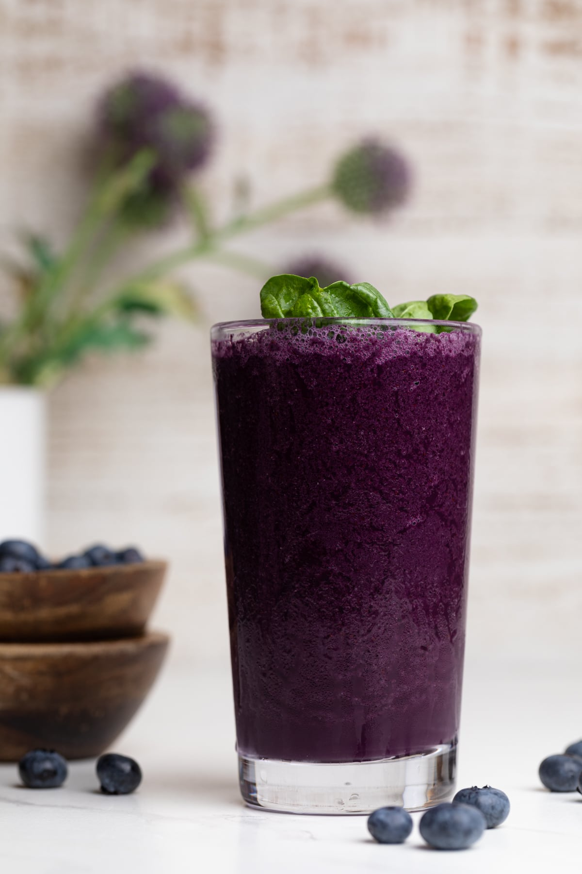 Easy Spinach Blueberry Smoothie