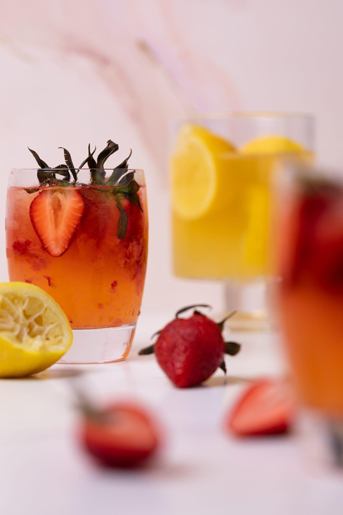 Easy Homemade Strawberry Lemonade