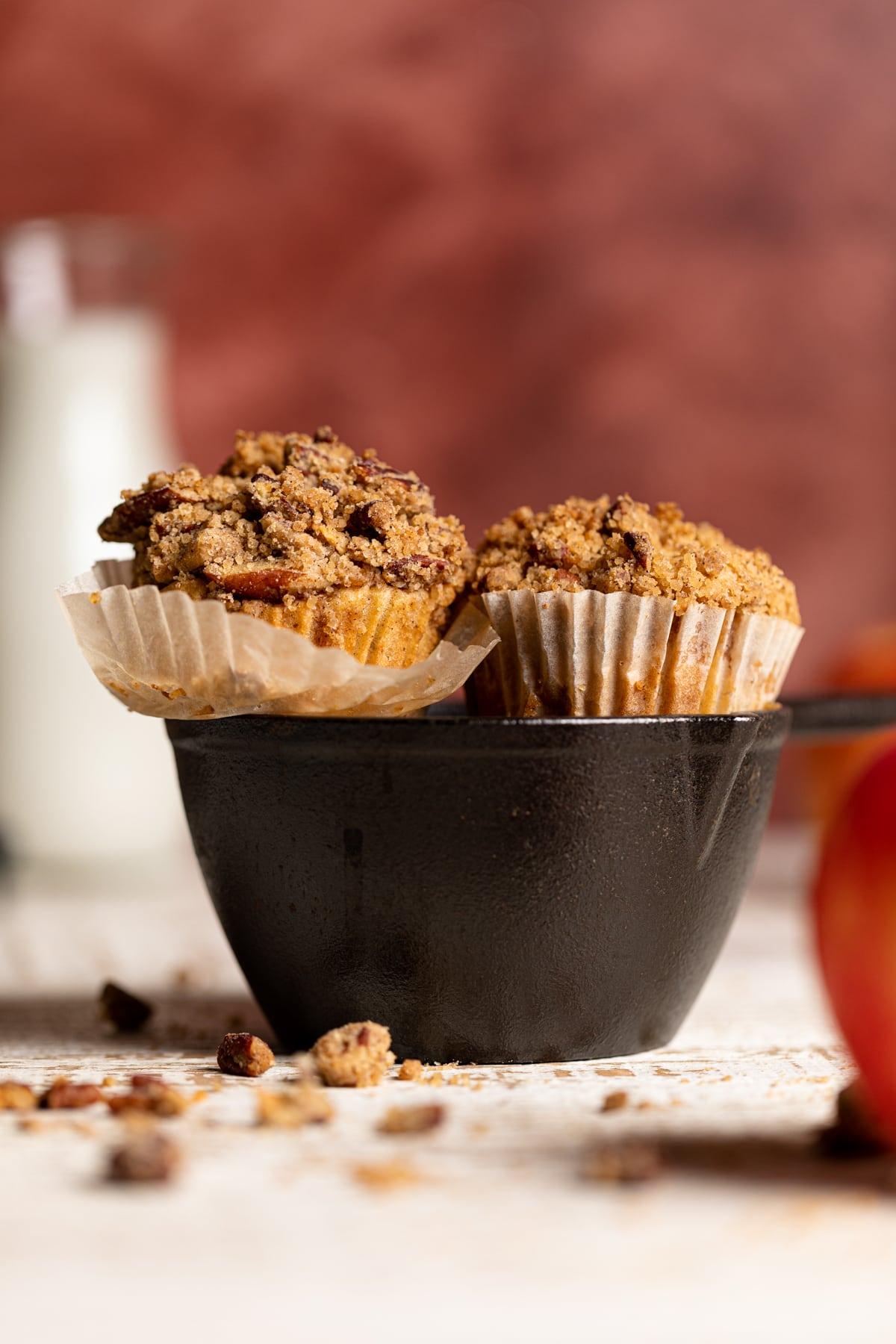 Vegan Apple Spice Muffins