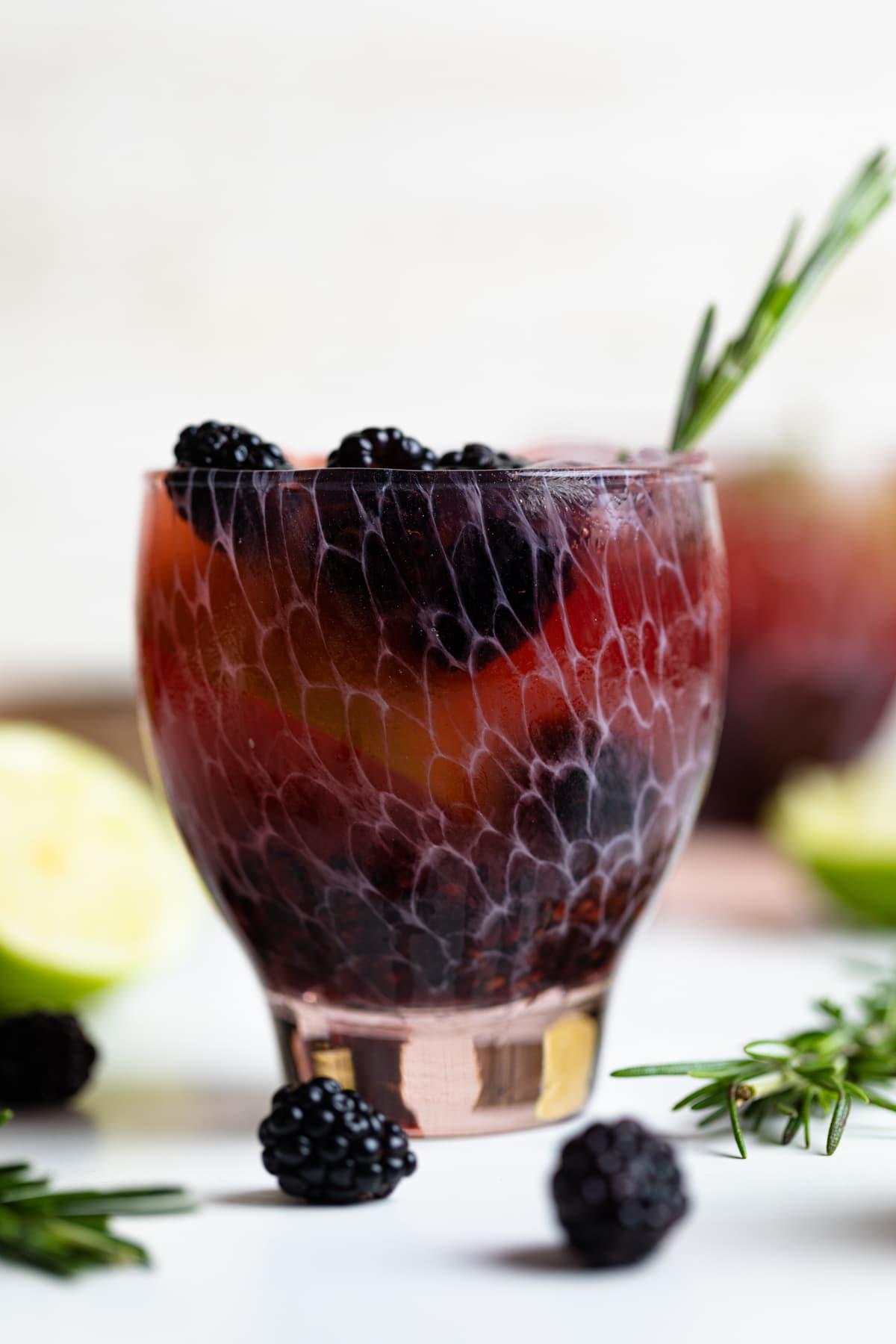 Blackberry Lime Mocktail