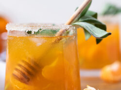 Citrus Honey Sage Drink